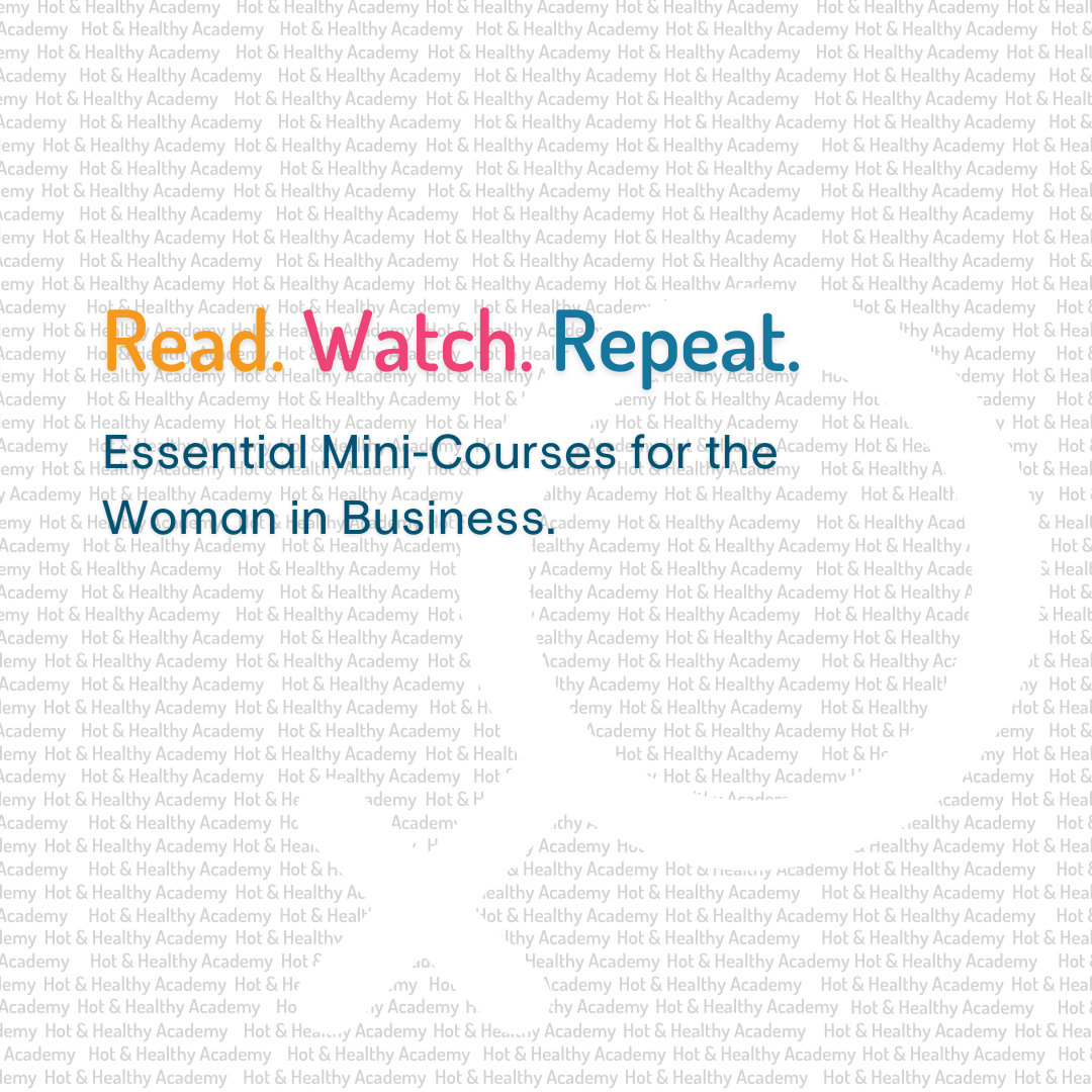 Hot and healthy academy - women in business - read watch repeat promotion image